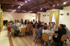 Bazzano (BO), domenica 25 giugno 2017, Alla Rocca Hotel/Ristorante, Capitolo d'estate della Compagnia dell'Arte dei Brentatori di Bazzano, conferenza sull' antispreco di cibo della Dott.ssa Claudia Rinaldi