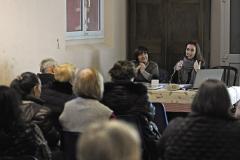 Bologna, domenica 22 gennaio 2017, presso la Basilica di San Martino, conferenza sullo spreco di cibo dopo le festività a cura della prof.ssa Sara Prati e della giornalista Claudia Rinaldi
