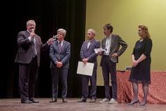 """Fiorano (MO), sabato 7 ottobre 2017, Terza Edizione del Premio Letterario Internazionale """"Terre di Guido Cavani"""" con la consegna del premio Media ad opera di Claudia Rinaldi"""