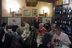 """Missano di Zocca (MO), venerdì 3 Marzo 2017, 3a Maialata in Condotta con Slow Food Vignola e Valle del Panaro. Intervento su """"Del maiale non si butta via niente """"della dott.ssa Claudia RInaldi"""