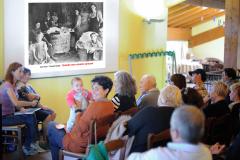 """Pompeano di Serramazzoni (MO), domenica 14 ottobre 2018, Seminare il futuro e Giornata dell'alimentazione in fattoria, """"Quando non eravamo spreconi"""" di Sara Prati e Claudia Rinaldi"""