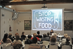 Rovereto sulla Secchia (MO), martedì 17 Gennaio 2017, gustosa conferenza sullo spreco alimentare, piatti tradizionali e ricette dimenticate