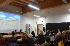 """Rovereto sulla Secchia (MO), martedì 10 aprile 2018, Conferenza su """"Radici interculturali nella civiltà contadina"""", a cura della Prof.ssa Sara Prati e della Dr.ssa Claudia Rinaldi"""