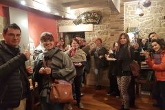 """Serramazzoni (MO), 6 maggio 2017, presso La Nicchia, presentazione di """"In cucina non si buttava niente"""", Aperitivo con le autrici Sara Prati e Claudia Rinaldi"""