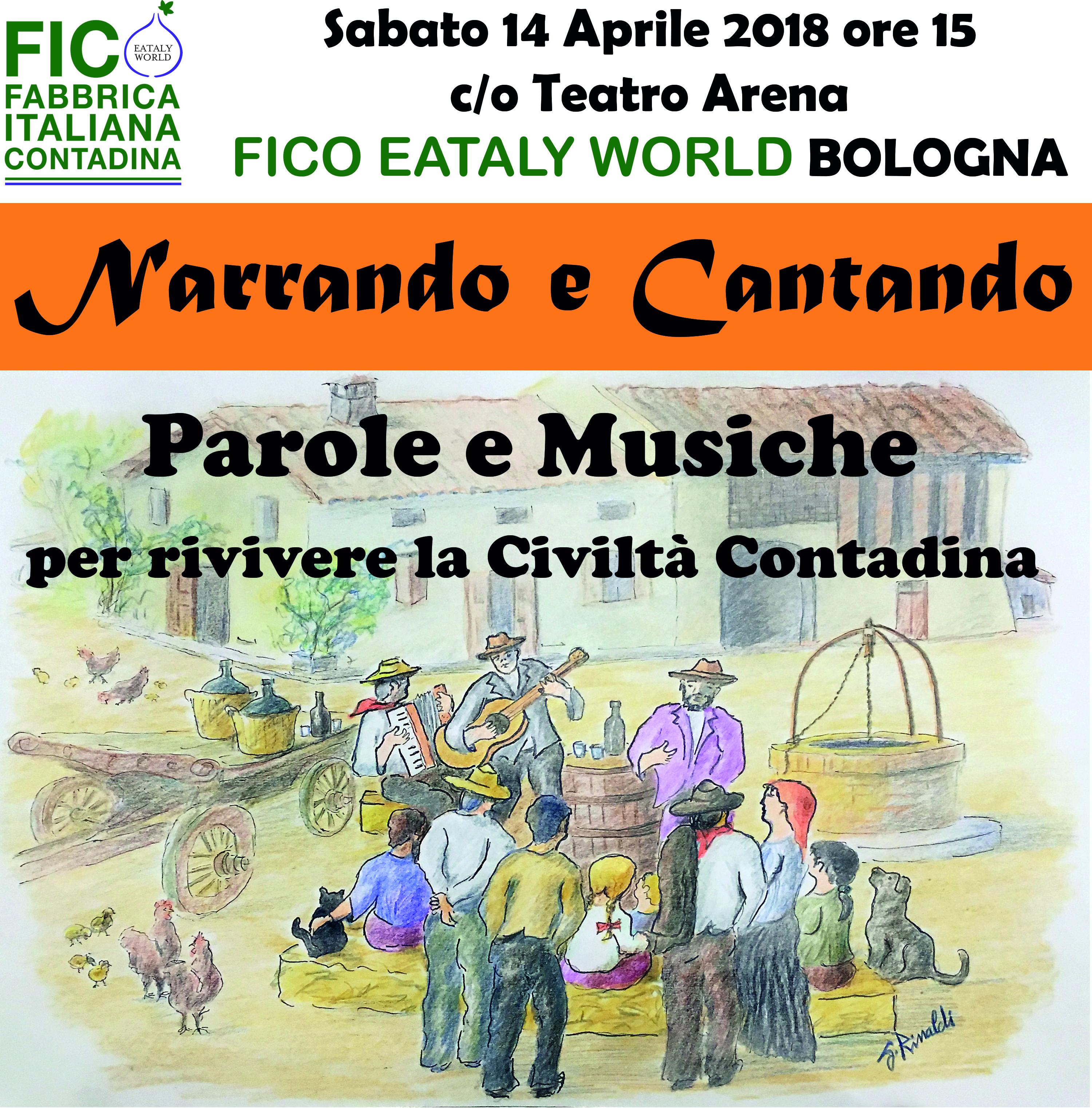 Narrando e Cantando 2018 arriva a FICO a Bologna