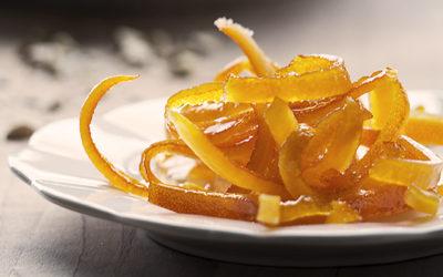 Scorze candite di arancia