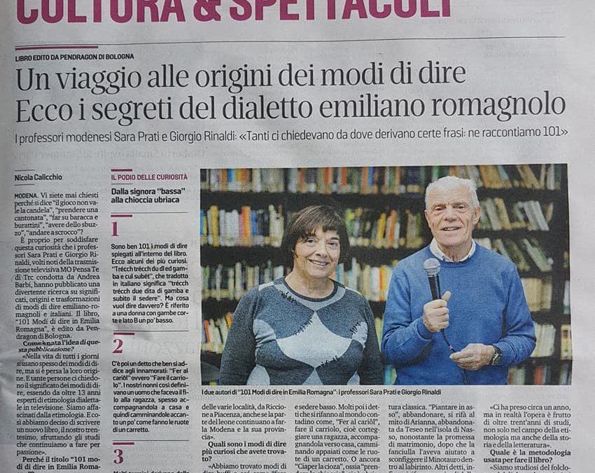Cultura e Spettacoli Gazzetta di Modena 22 Giugno 2019