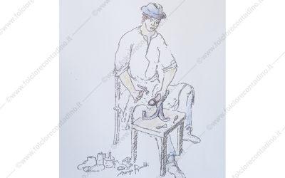 Un antico mestiere: al scarpulèin (il calzolaio)